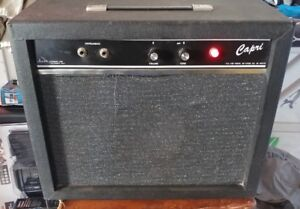 Vintage 1960's 60s Alamo Capri Guitar Amplifier Amp. Natural Overdrive!