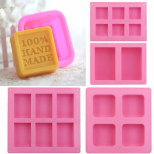 DIY Silicone Ice Cube Candy Chocolate Cake Cookie Cupcake Soap Molds Mould Tool