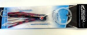 Fathom Offshore Trolling Lure Calico Jack Slant Pre-Rigged Medium Black Scale