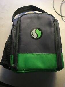 FIT and FRESH insulated lunch tote, REDUCED$ , w/strap, bottle holder, pre-owned