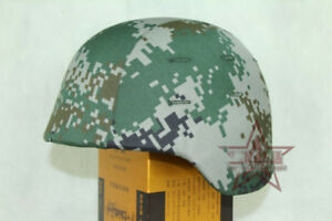 Tactical Ballistic Bullet Proof Military Shooting Helmet + Camouflage Skin Cover