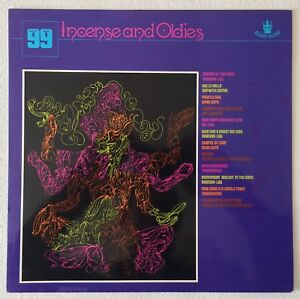 VARIOUS ARTISTS ~ INCENSE AND OLDIES ~ 1970 UK 12-TRACK VINYL LP RECORD