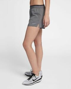 Nike Elevate Women's 5″ Running  Gym Shorts. Grey. Size: Small. BNWT