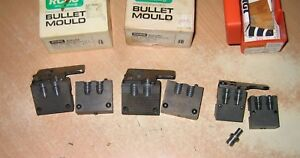 Lot of 3 RCBS and Lyman .38.357 Bullet Moulds