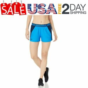 Under Armour Women's Play Up 2.0 Shorts Static Blue (414)Halogen Blue XX-Large