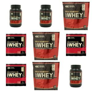 OPTIMUM NUTRITION GOLD STANDARD 100% WHEY High Quality Protein 30g to 2.27kg