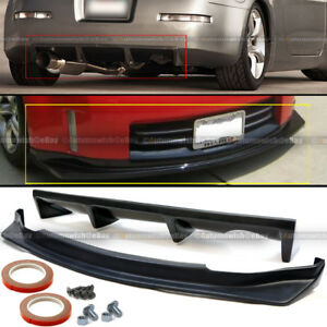 For 06-09 350z Unpainted NS N Style Front & Rear Bumper Lip Diffuser Body Kit