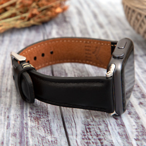 Genuine Leather Replacement Band Bracelet for Apple Watch iWatch 38404244mm