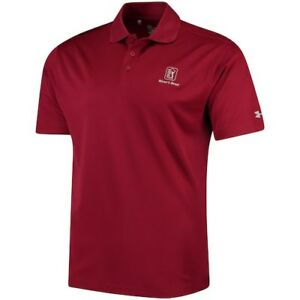 Under Armour TPC River's Bend Cardinal Performance Polo