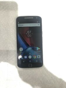 Motorola Moto G4 Plus 4th Gen - UnlockedVerizon - - 16GB - Black - B Condition