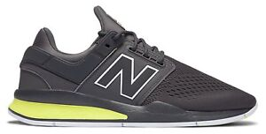 New Balance Male Men's 247 Sport Style Lightweight Shoes Grey With Green