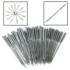 50PCS Home Sewing Machine Needle 11 7512 8014 9016 10018 110 for Brother $2.69