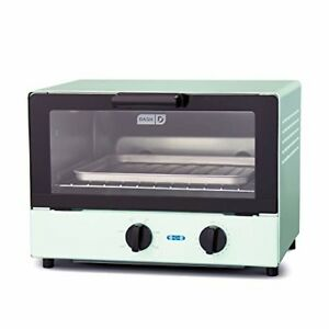 Compact Toaster Oven Cooker for Bread Bagels Cookies Pizza Paninis+ Aqua
