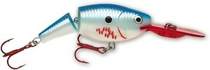 (Bleeding Blue Shad) - Rapala Jointed Shad Rap 05 Fishing Lures. Best Price