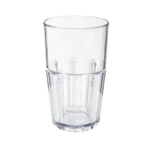 GET 9914-1-CL Bahama Clear Plastic Tumbler (1 case of 6 dozen)