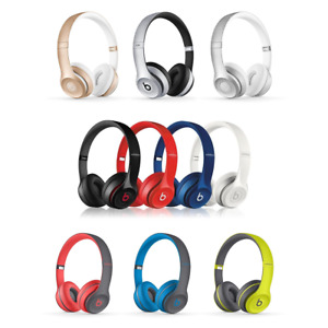 *  Brand New * Beats Solo2 Wired On-Ear Headphone PINK - WHITE * USA RETAIL *