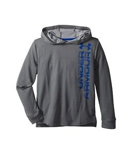 (X-Large Graphite) - Under Armour Boys' Textured Tech Hoody Long