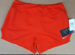 Nike Women's Dry-Fit 3.5 inch Training Running Shorts.Light Crimson-Medium BNWT