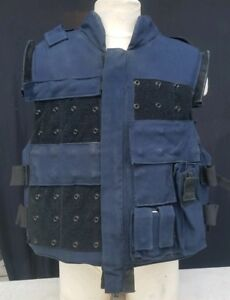 FREE SHIPPING! Point Blank Bullet Proof Vest Body Armor w Pouches  Size XL Reg