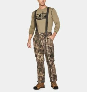 Under Armour Extreme season wool hunting bib pants large NEW with tags $275 camo