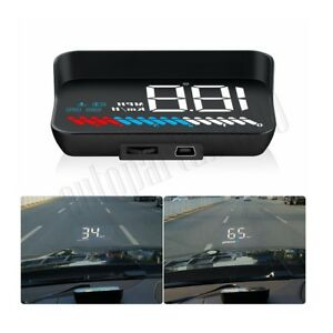 Car HUD Head Up Display OBD II OBD2 +GPS Auto Gauge Dash Screen Projector