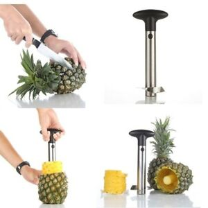 Stainless Steel Fruit Pineapple Cutter Peeler Corer Slicer Easy Kitchen Tool new