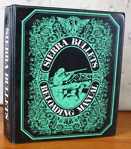 Sierra Bullets Reloading Manual 1971 with 1977 Supplement