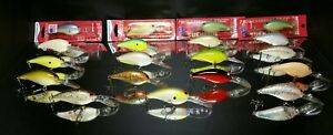 Norman Deep Little N  ( Lure Lot Of 19) Fishing Lures
