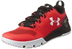 (12 UK red  black  white) - Under Armour Ua Charged Ultimate Tr Low Men's