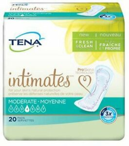 TENA Intimates Moderate Absorbency Pads 11'' #41300 - 120 Count