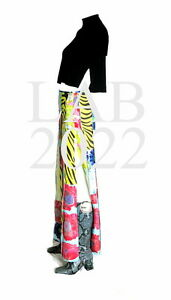 GUCCI by TOM FORD 1996 EXIT 12 COMPLETE PATCHWORK SKIRT AND KNIT TOP