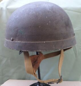 Genuine British WW2 Airbourne Para Helmet HSAT MK I Australian Web Conversion