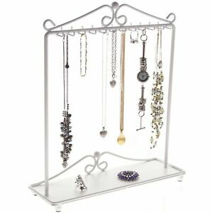 Necklace Holder Display Tree Stand Hanging Jewelry Organizer Storage Hooks Rack