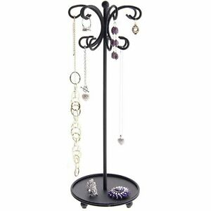 Necklace Holder Display Tree Stand Hanging Jewelry Organizer Stor