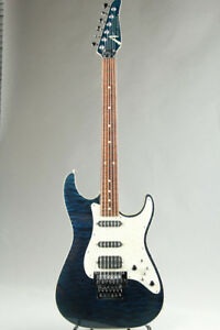 TOM ANDERSON Drop Top Classic  Deep Ocean Blue Electric Guitar (Used)