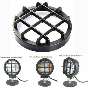 10Pcs 4 Inch Round Work Light Lens Cover Protector Black for Off-road Car SUV