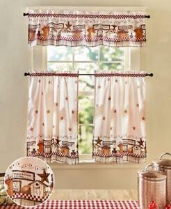 Country Or Sunflower Themed Curtains Great Cover For Kitchen Or Bathroom Windows