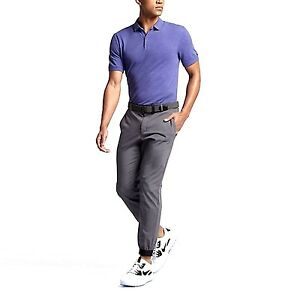 Nike Golf Transition Dry Wool Men Slim Fit Polo Shirt 815842 Was $100