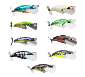 Jackall Pompadour Jr. Topwater Lure 2 1 2 inch Winged Topwater Prop Bass Lure