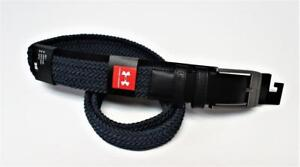 New Mens Under Armour braided academy blue stretch fit golf belt Size 40