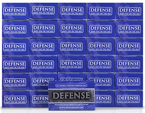 Defense Soap 4 Ounce Bar Pack of 30 - 100% Natural Tea Tree Oil and Eucalyptus