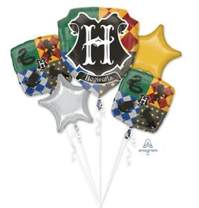 Harry Potter Balloon Bouquet 5 Pieces Brand New