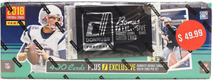 2018 PANINI DONRUSS FOOTBALL FACTORY SEALED SET + BONUS PACK
