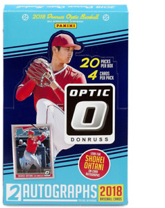 2018 DONRUSS OPTIC HOBBY BASEBALL BOX
