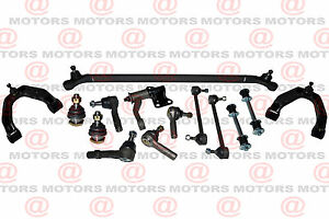 Steering Center Link Tie Rod Suspension Upper Arm Sway Bar 2WD FRONTIER 3.3L
