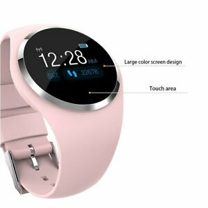 Women Bluetooth Bracelet heart rate Blood Pressure Smart Watch for IOS Android