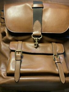 COACH BLEECKER BACKPACK BAckpack RUCKSACK LEATHER Brown