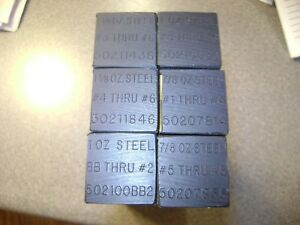 Lot of 6 NEW MEC 502 Progressive Steel Shot Charge Bars