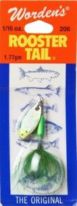 Yakima Worden's Rooster Tail Lure Lime Chartreuse 1470ml. Huge Saving