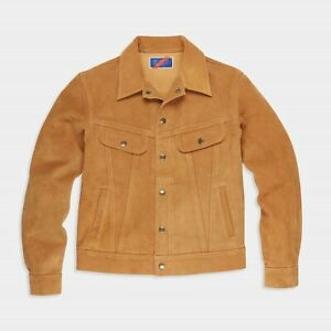 Best Made Co The Roughout Trucker Jacket- Large
